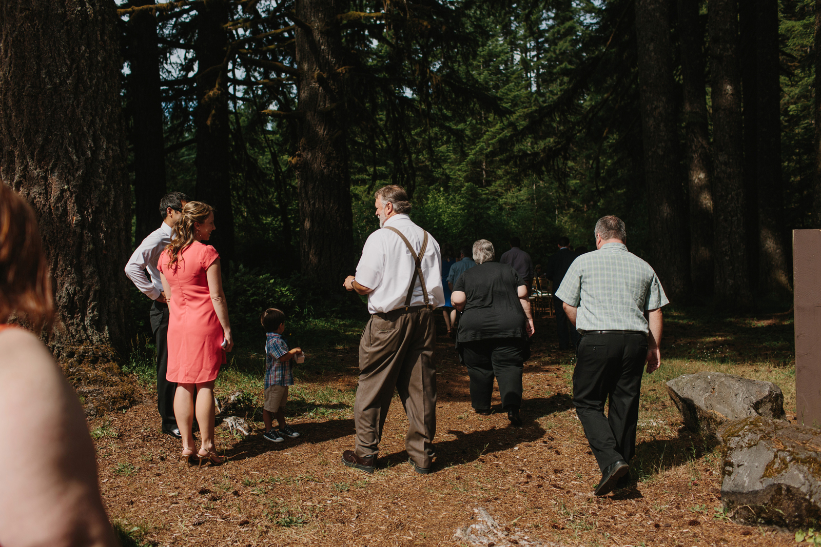 Silver Falls State Park Wedding by Anna Jaye Photography 036