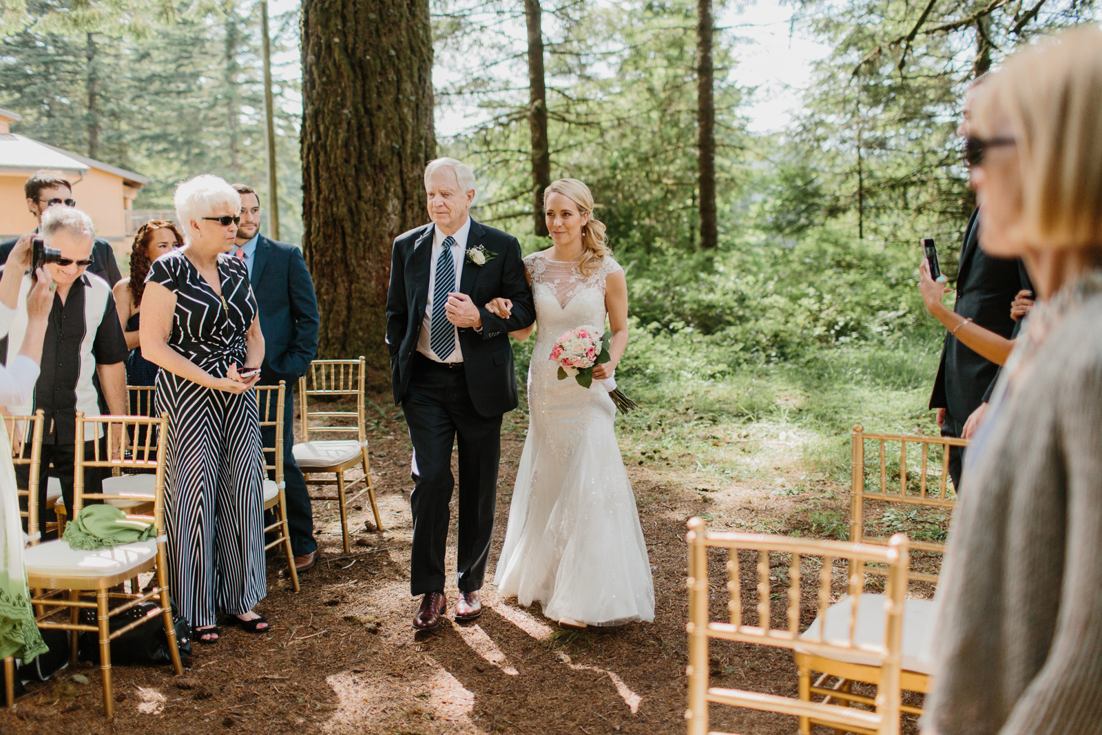 Silver Falls State Park Wedding by Anna Jaye Photography 041