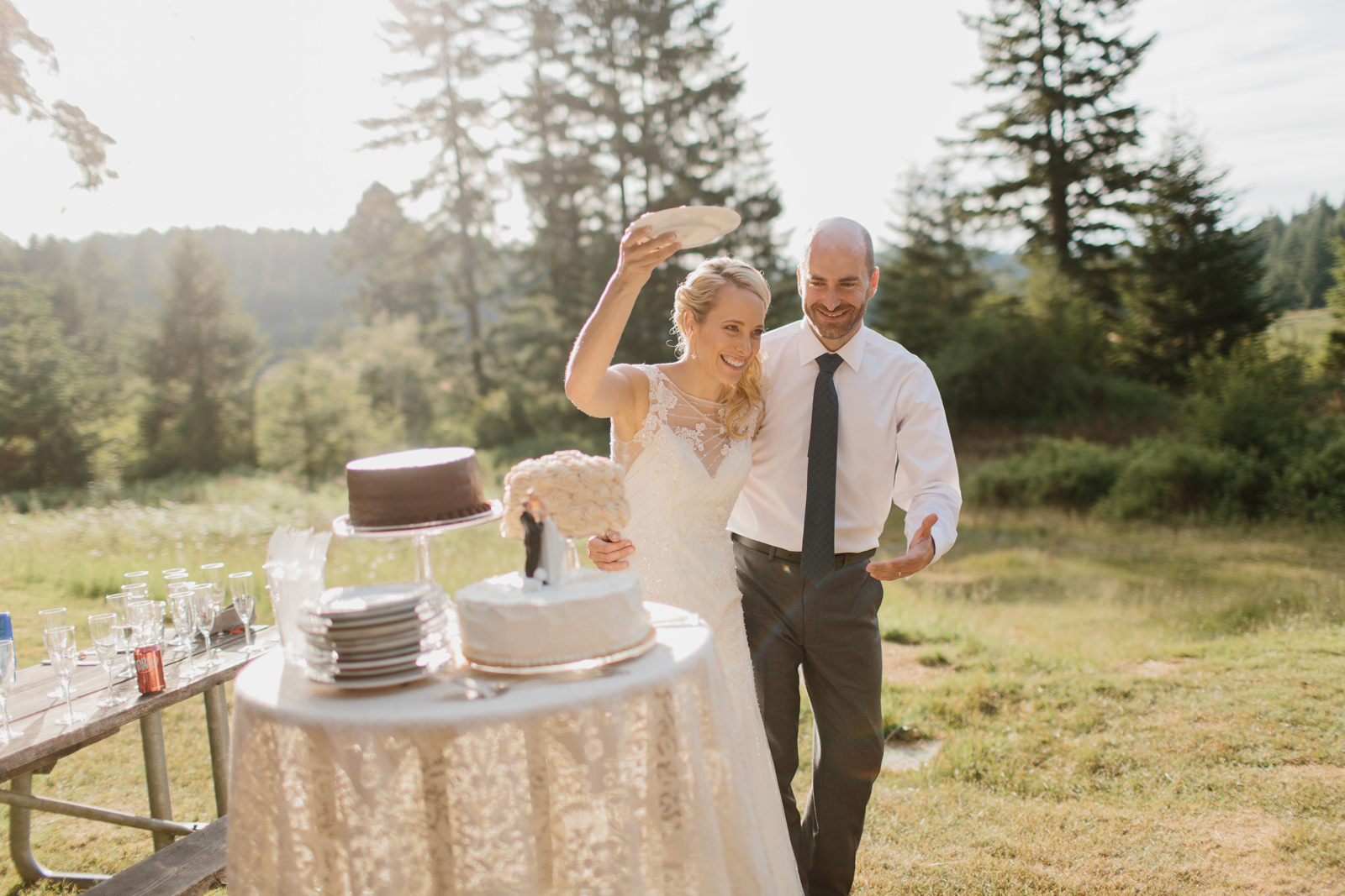 Silver Falls State Park Wedding by Anna Jaye Photography 089