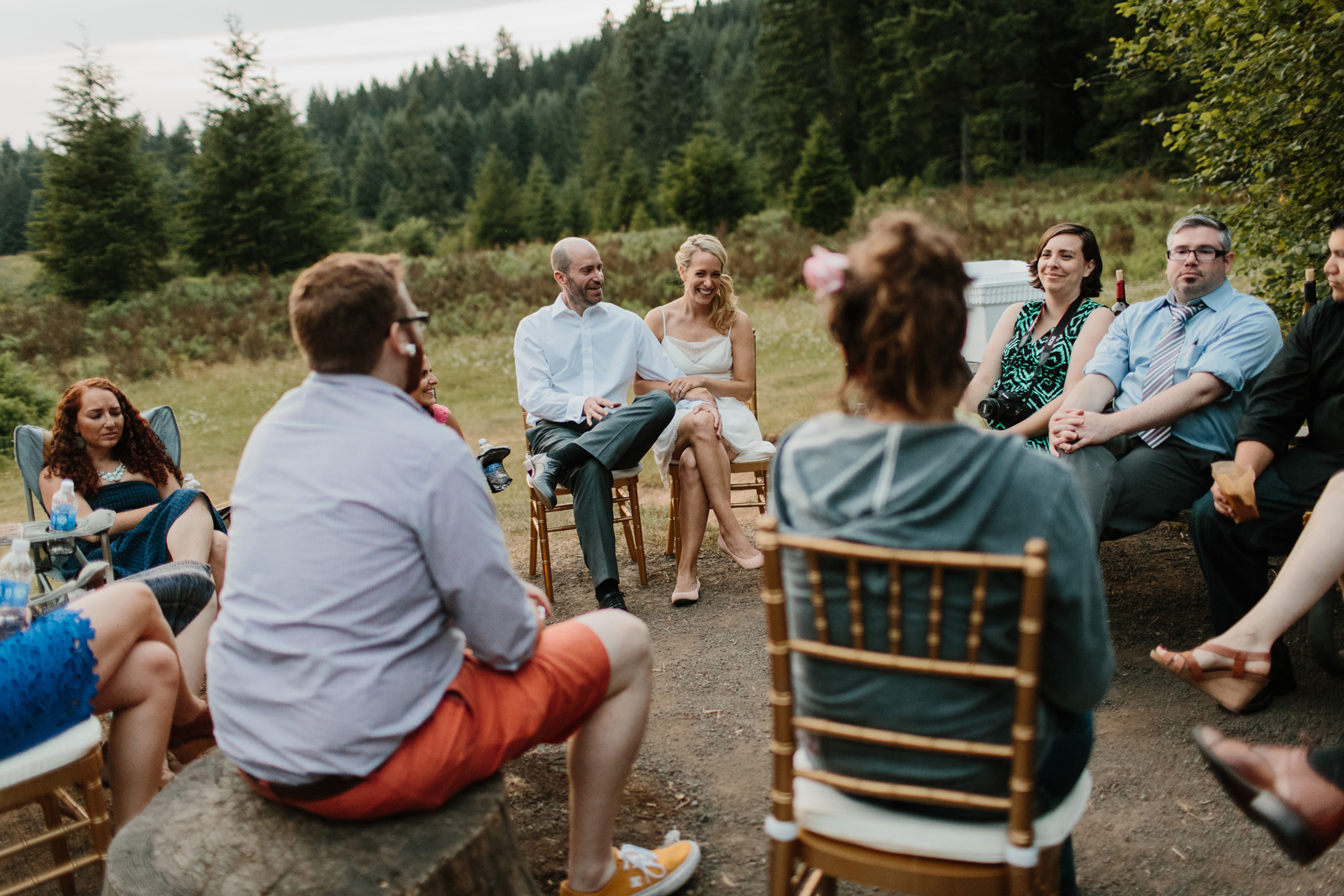 Silver Falls State Park Wedding by Anna Jaye Photography 120