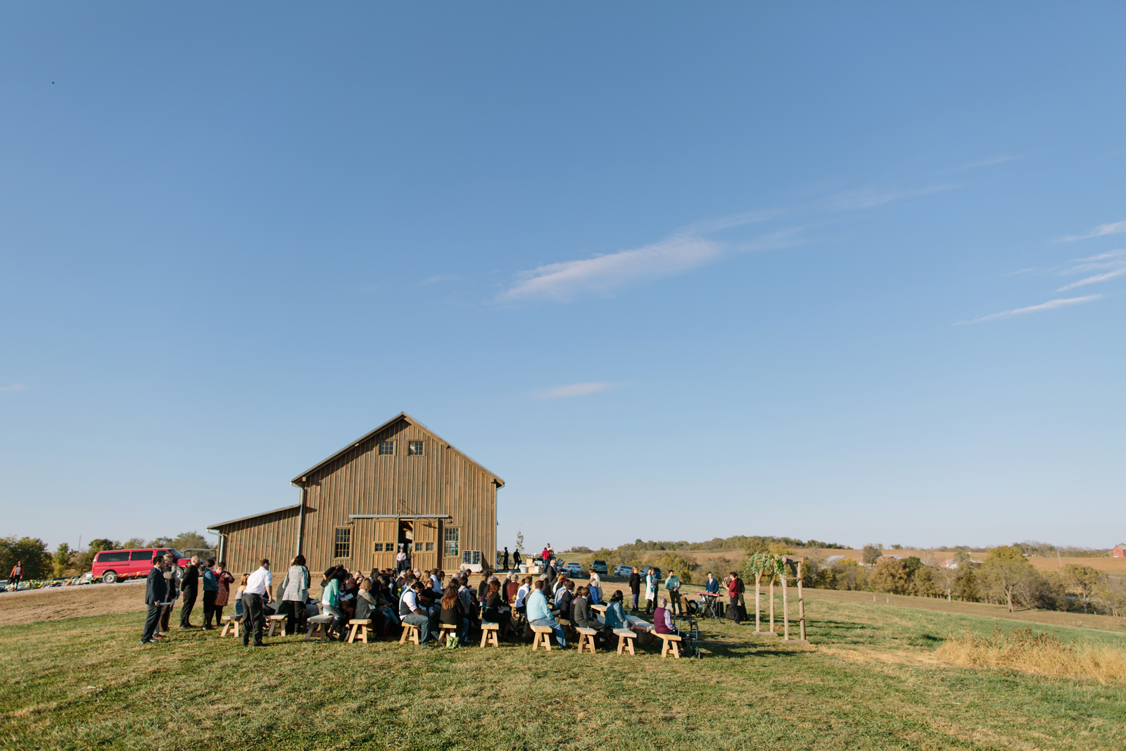 Weston Red Barn Farm Wedding 045