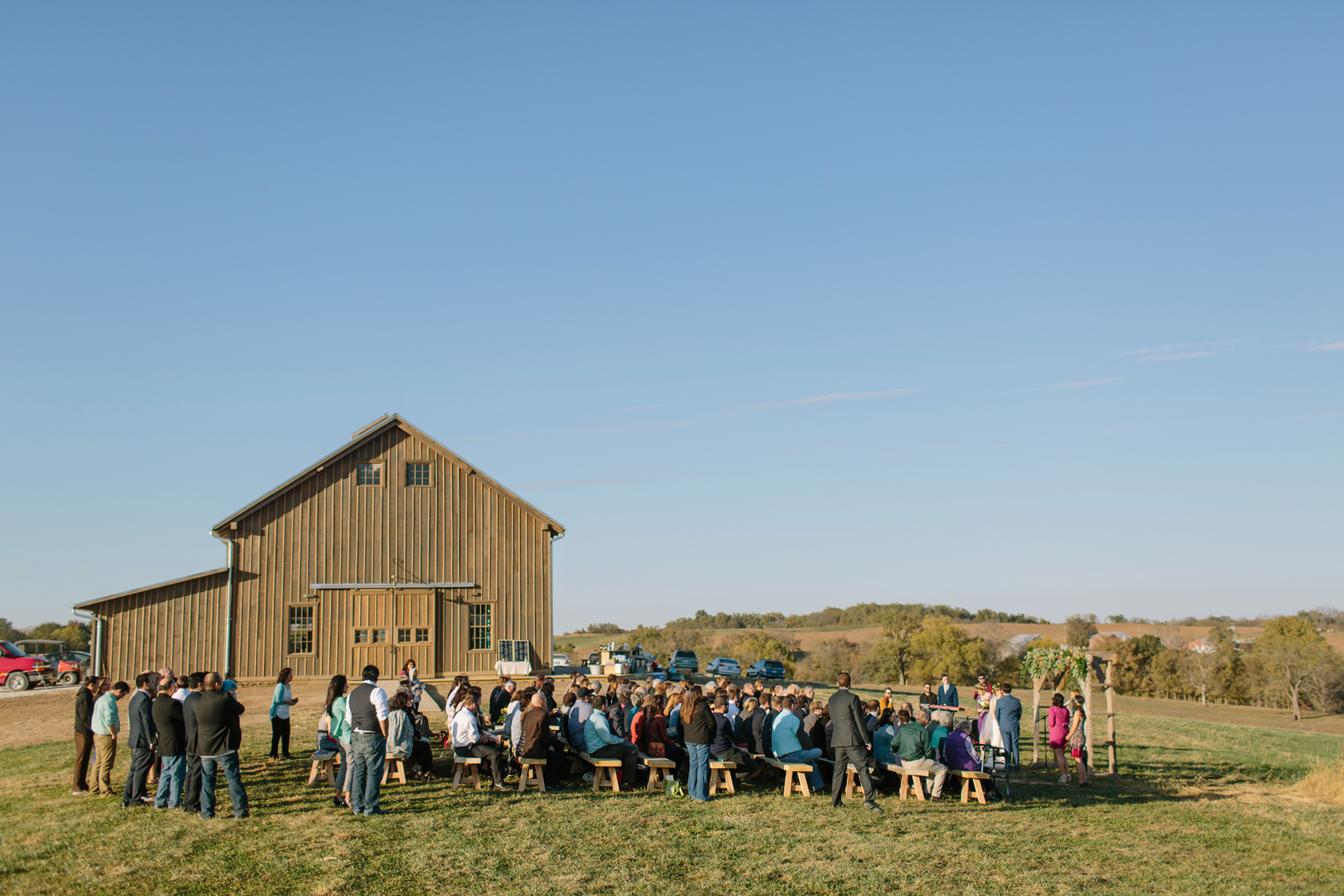 Weston Red Barn Farm Wedding 055