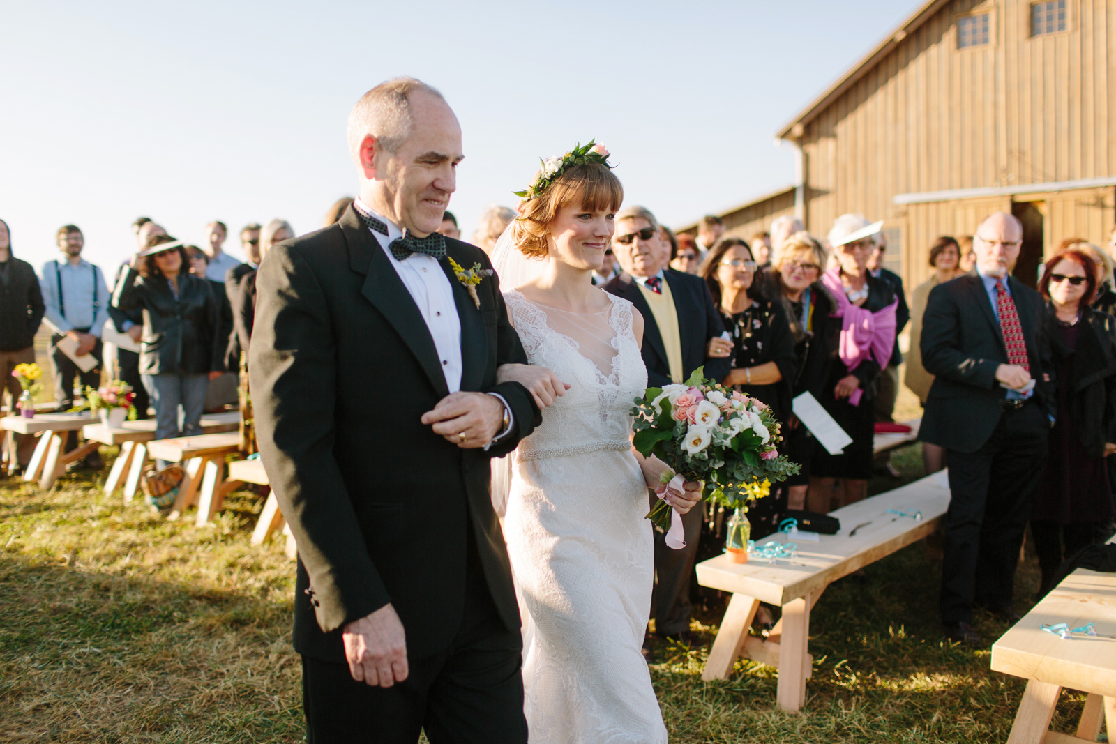 Weston Red Barn Farm Wedding 125