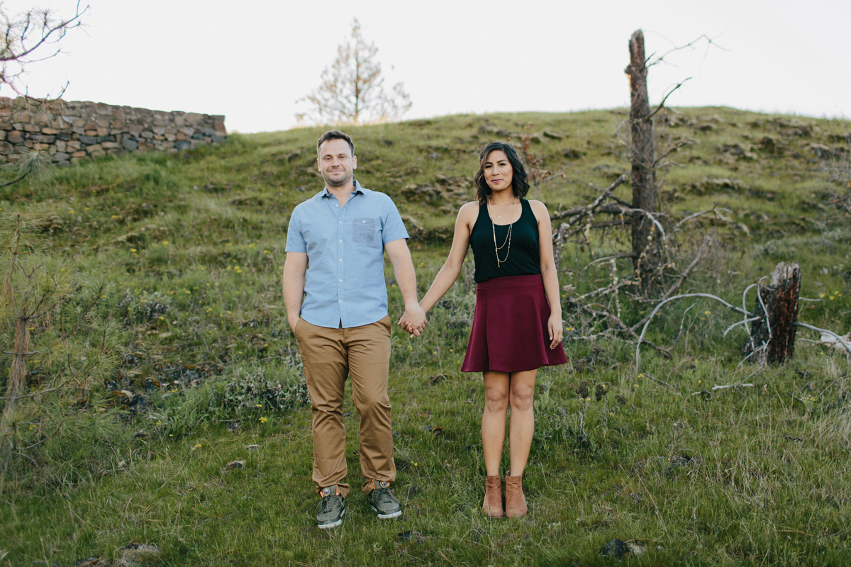 Columbia River Gorge Engagment photos 004