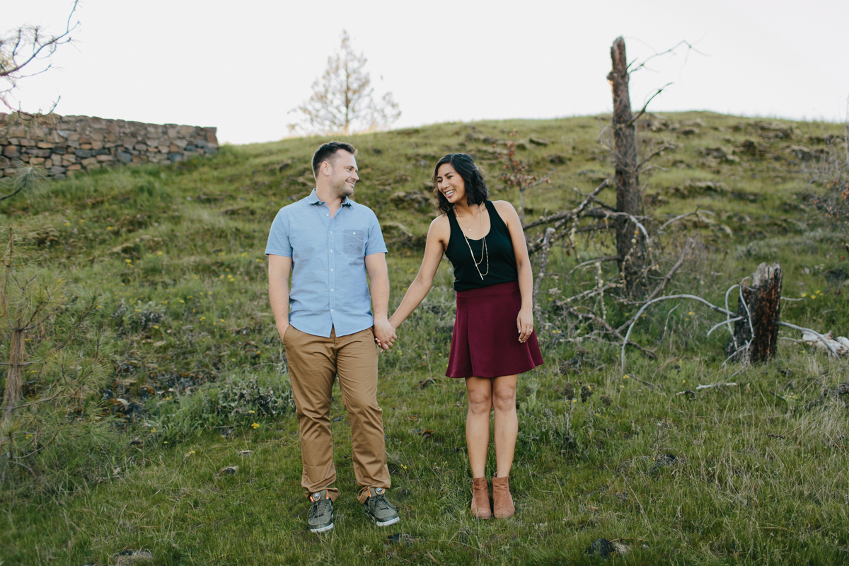 Columbia River Gorge Engagment photos 005