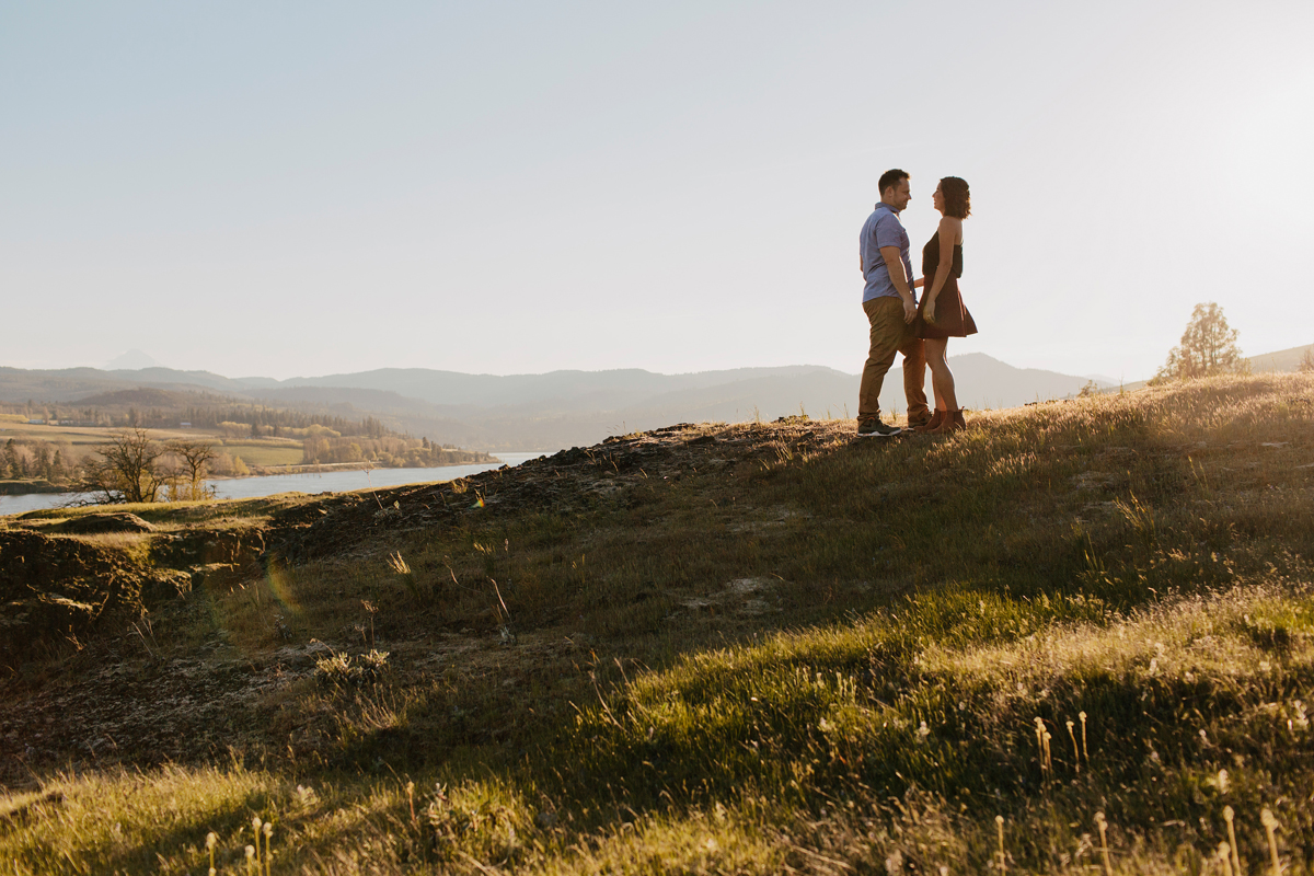 Columbia River Gorge Engagment photos 008