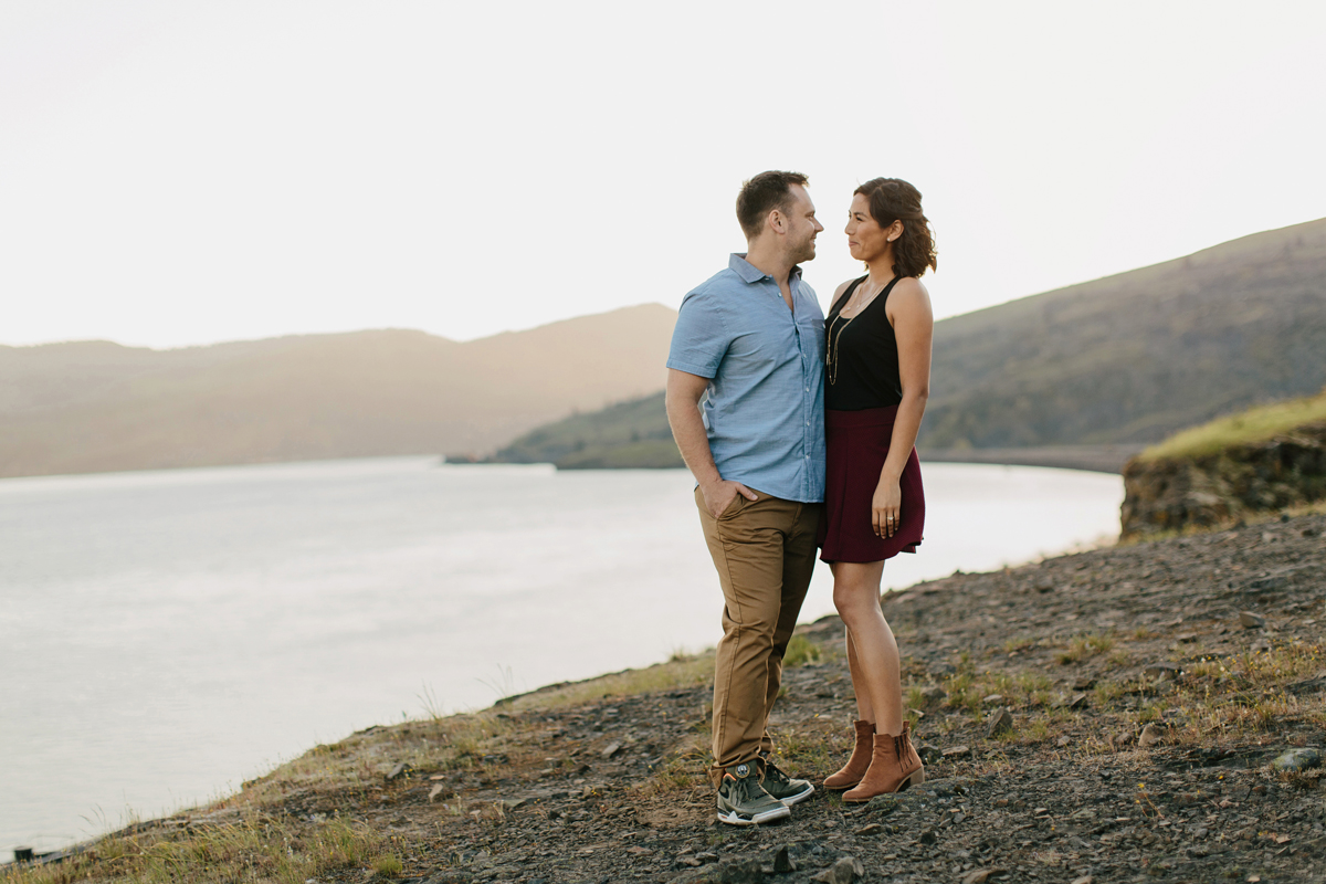 Columbia River Gorge Engagment photos 024