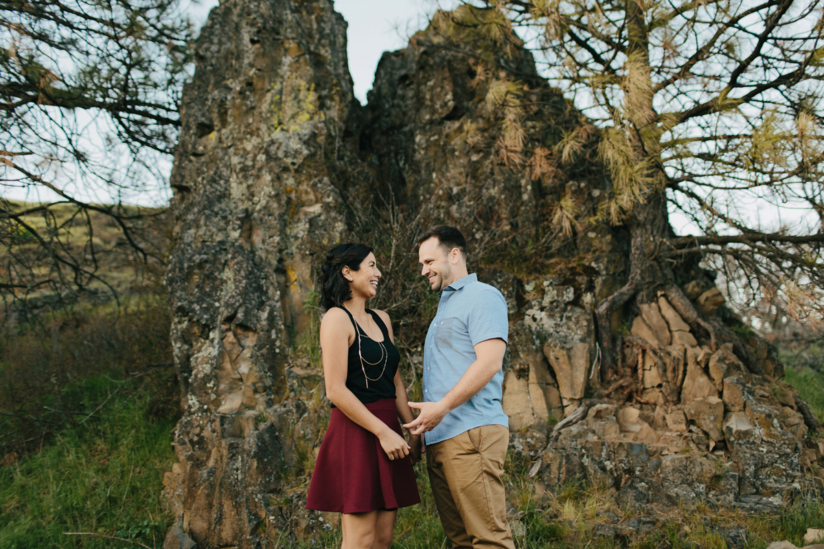 Columbia River Gorge Engagment photos 026