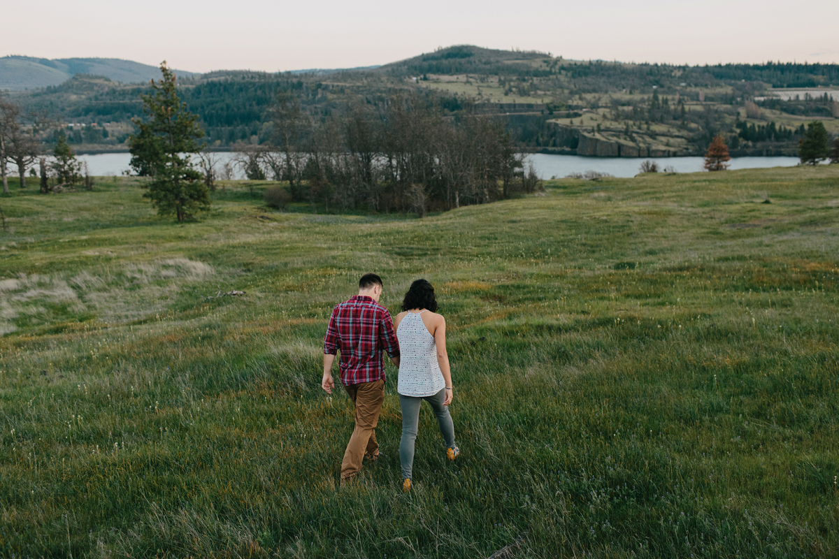 Columbia River Gorge Engagment photos 028