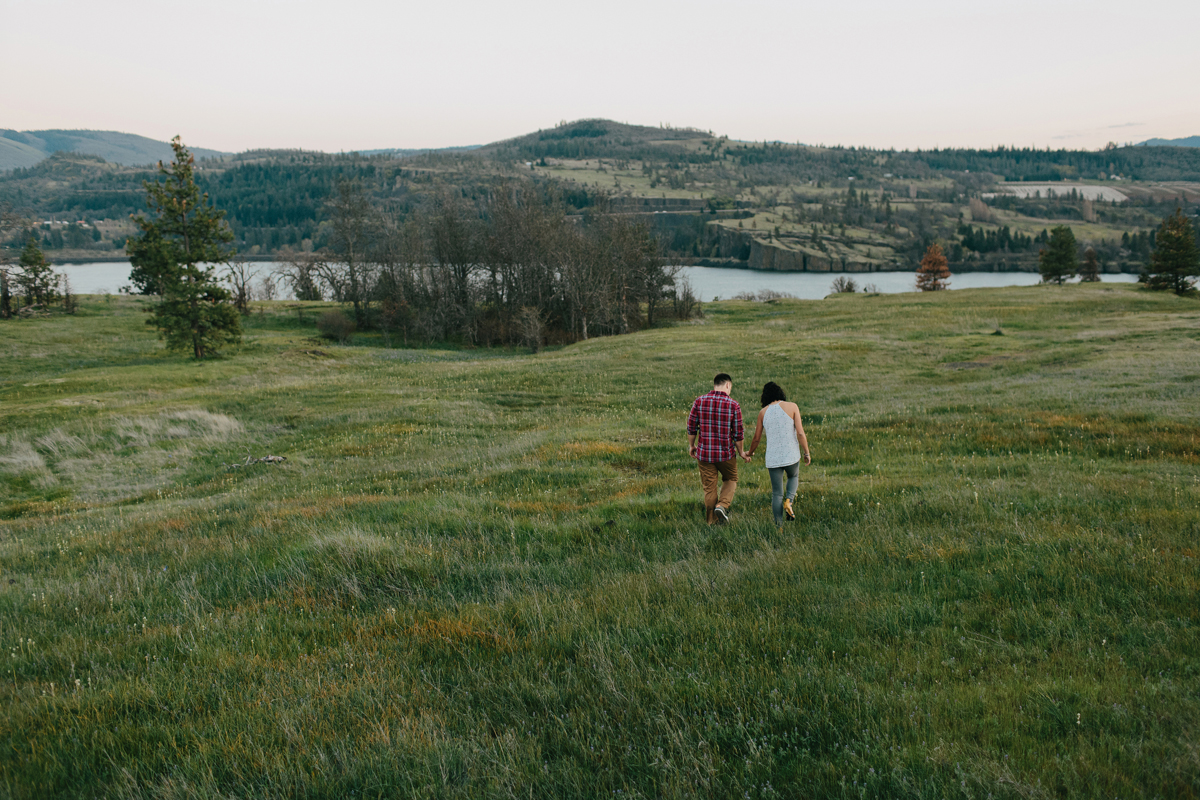Columbia River Gorge Engagment photos 029