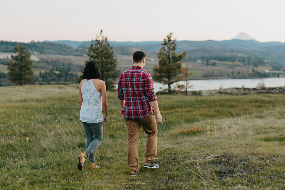 Columbia River Gorge Engagment photos 033