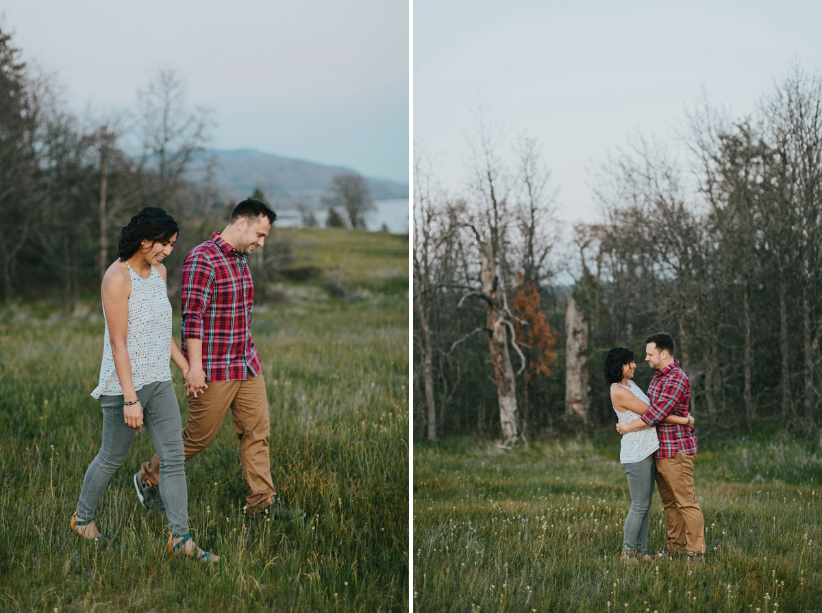 Columbia River Gorge Engagment photos 035