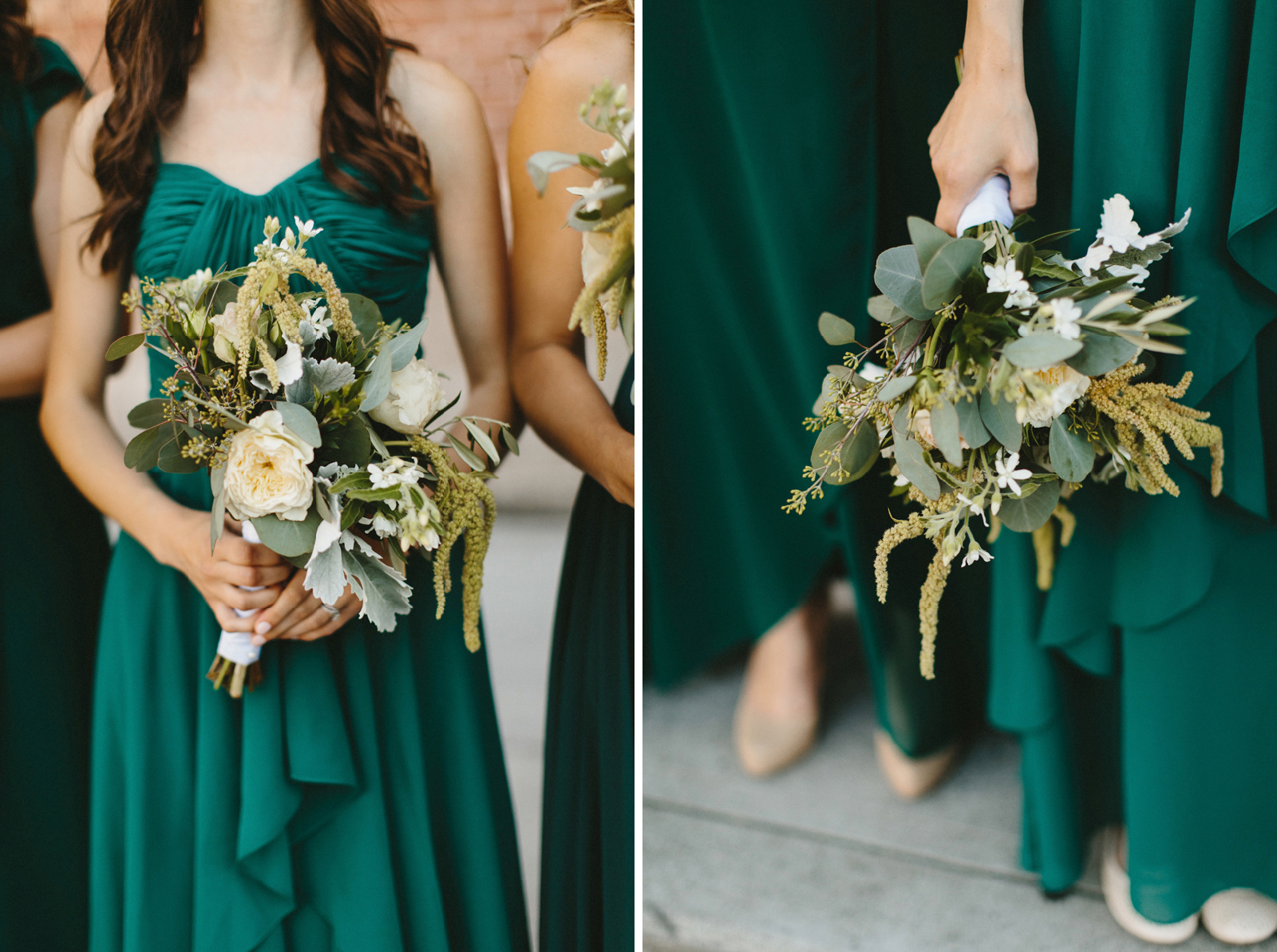 bridesmaids flowers by New Seasons