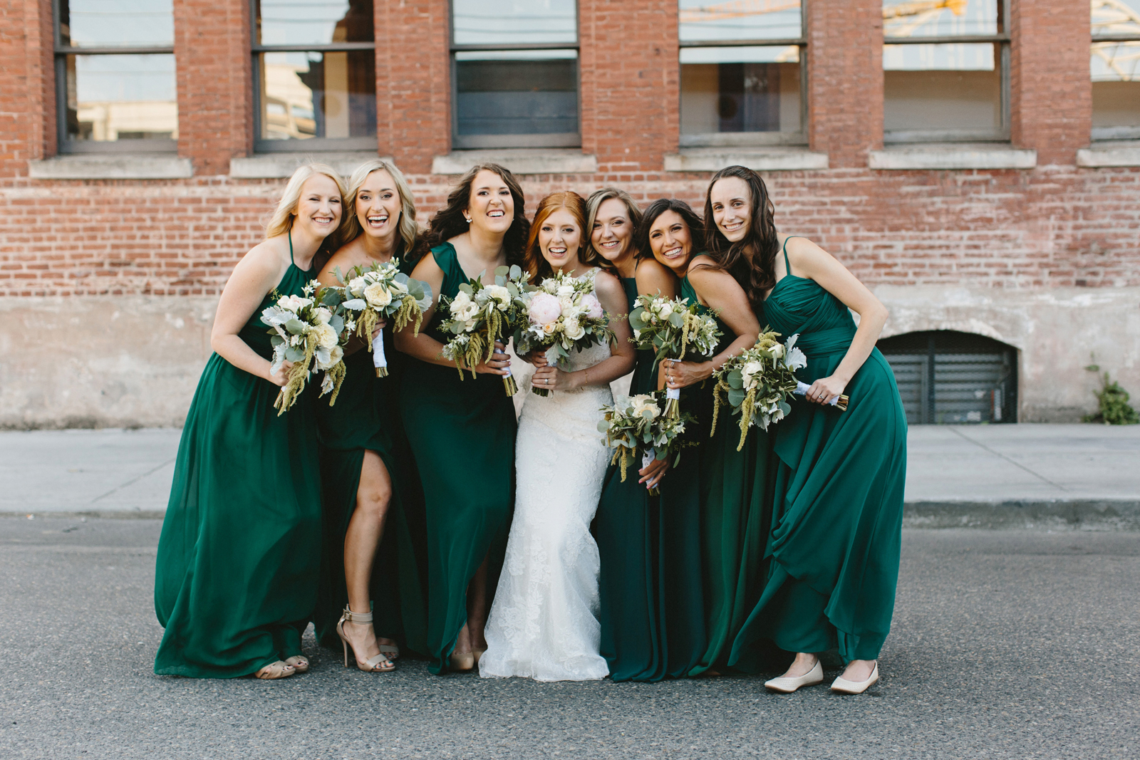 bridesmaids at Castaway Portland