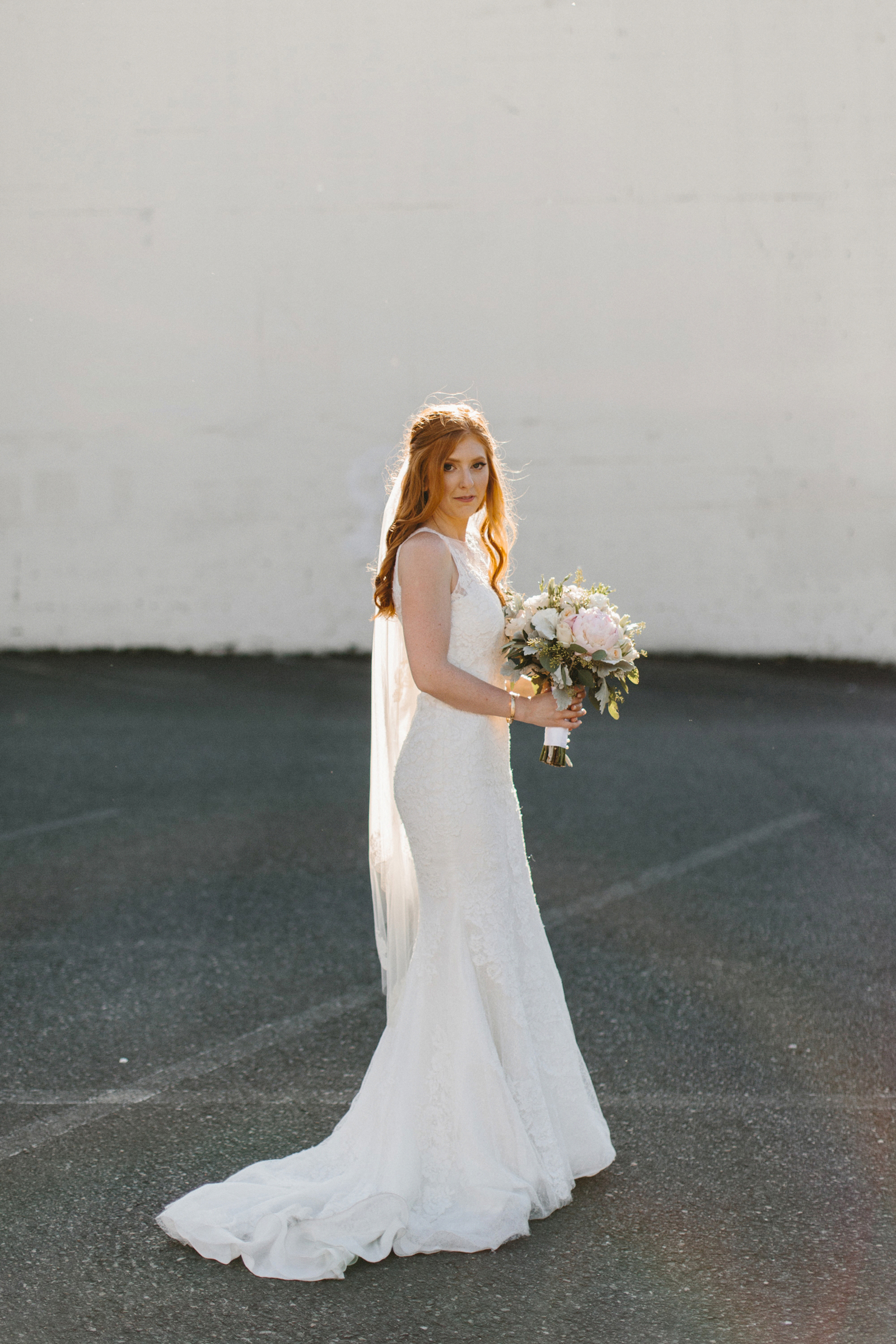 photograph of bride at Castaway Portland