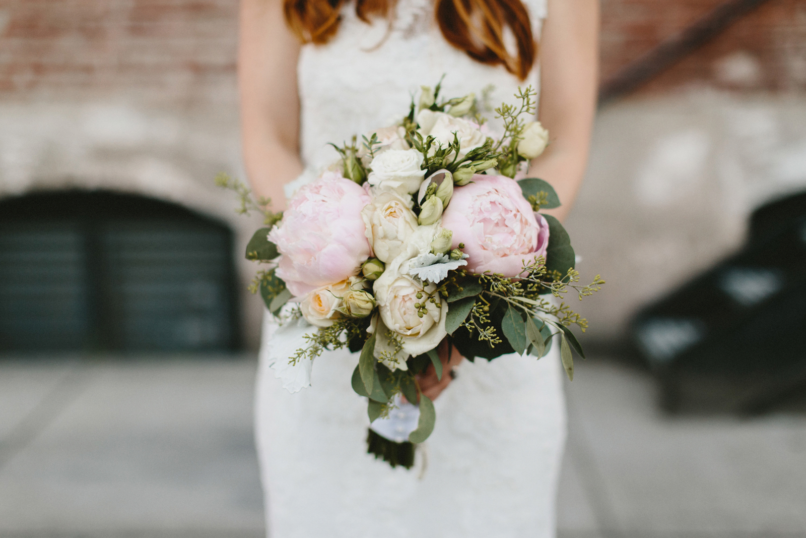 photograph of bride's bouquet at Castaway Portland