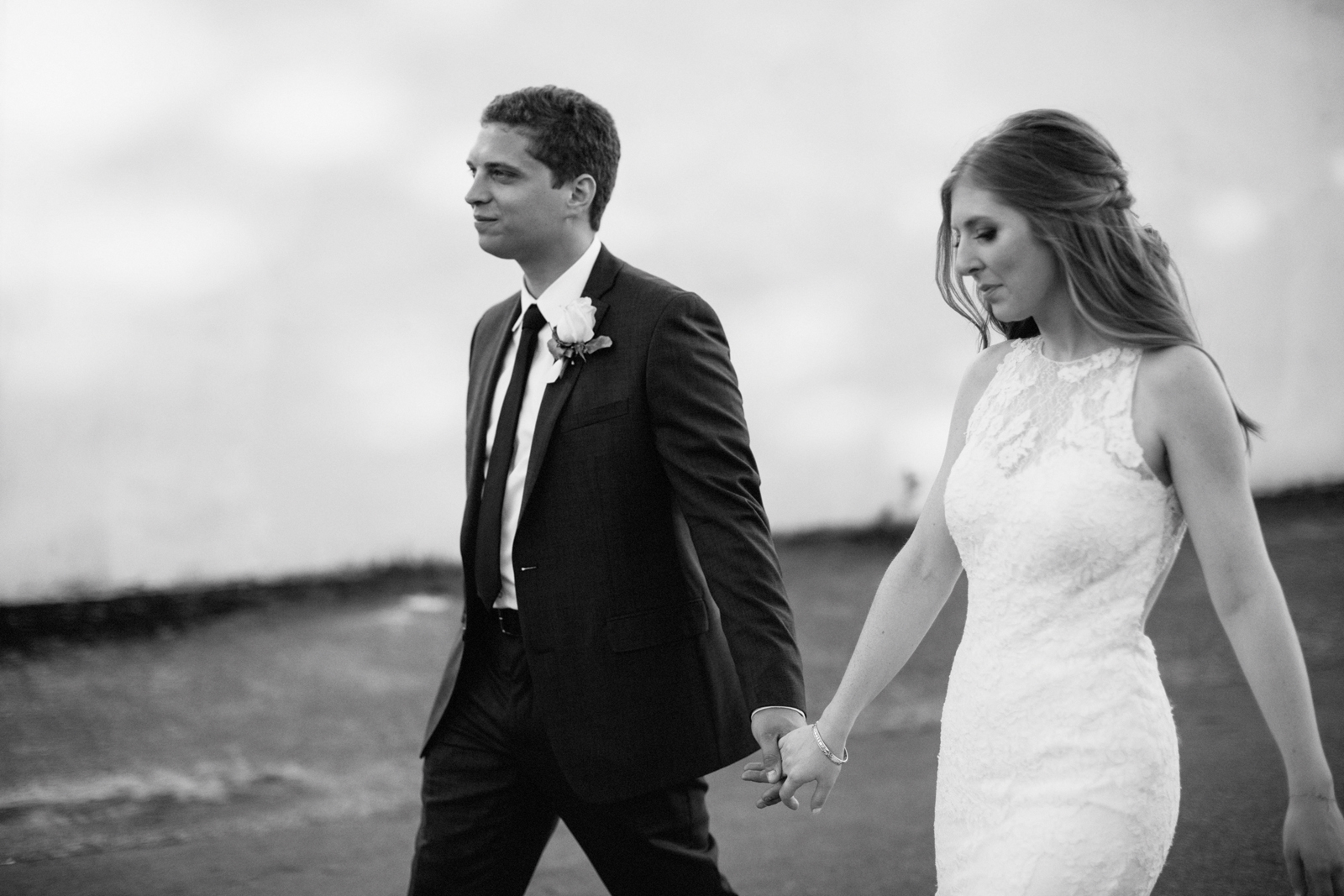 photograph of bride and groom Castaway Portland